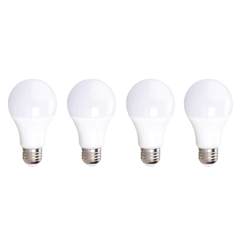 LED A15 Light Bulb, 7W (50W Equivalent) 500 Lumens, 5000K Daylight, E26 Medium Base, 120V, UL Listed, (4 Pack)