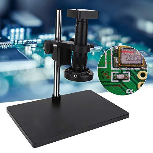 34 MP Mikroskopkamera,34 Megapixel CMOS Sensor 1/2. 33 Zoll 34MP Digital Industrial Lötmikroskop Kamera HDMI USB-Ausgänge Industriemikroskop Set LED Industrielle CMOS Kamera,viel Zubehör(EU)