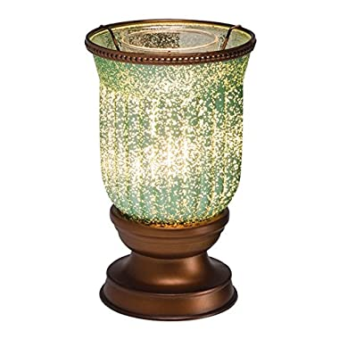 Scentsy Lampshade Warmer (Seafoam Fluted Shade)