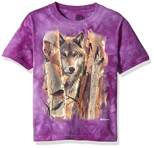 The Mountain Unisex-Adult's The Guardian, Purple Small