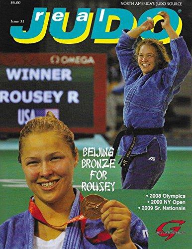 Ronda Rousey 1st Cover 2009 Real Judo Magazine 2008 Beiji...