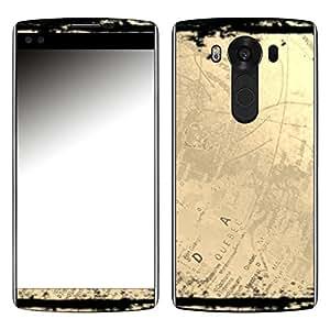 """Motivos Disagu Design Skin para LG V10 (H961N): """"Globus"""""""