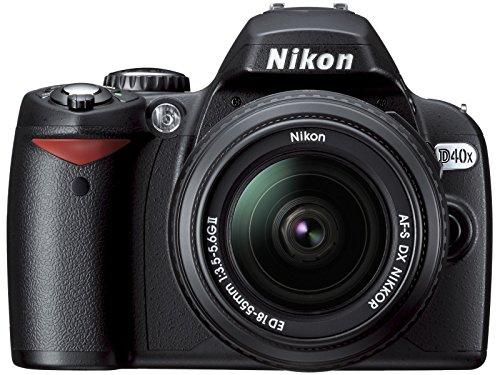 Nikon D40x 10.2MP Digital SLR Camera with 18-55mm f/3.5-5.6G ED II AF-S DX Zoom-Nikkor Lens (OLD - Zoom Monitor Inch Lcd 2.5