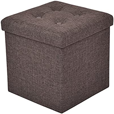 Astonishing Costway Folding Storage Ottoman 2 Size Of Single 1 Seater Double 2 Seater Available Pouffe Foot Box 3 Colors Stool Suitable For Bedroom Living Alphanode Cool Chair Designs And Ideas Alphanodeonline