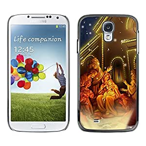YOYO Slim PC / Aluminium Case Cover Armor Shell Portection //Christmas Holiday Miracle Baby Jesus 1296 //Samsung Galaxy S4