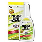 Xtreme Green Engine Life Treatment - Turns Motor Oil into Super Motor Oil - Increase Power and Performance - Optimize Fuel Economy (12 Fl. Oz 355ml)