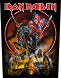 XLG Iron Maiden England '88 Back Patch Tour Metal Battle Jacket Sew On Applique