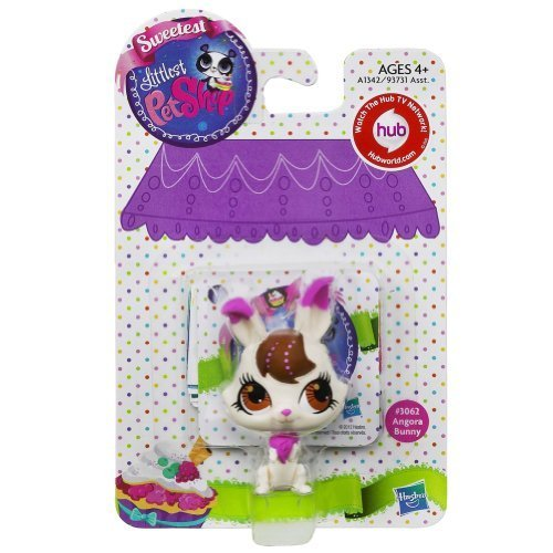 (Littlest Pet Shop Sweetest Angora Bunny Single Pet)