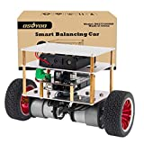 remote control arduino - OSOYOO RC Two Wheel Self Balancing Robot Car Kit with UNO R3 Board DIY Educational Programmable Starter Kit for Arduino, Bluetooth Remote Control by Android Smart Phone