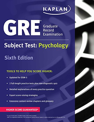 GRE Subject Test: Psychology (Kaplan Test Prep) (Example Of Personality Test Questions With Answers)