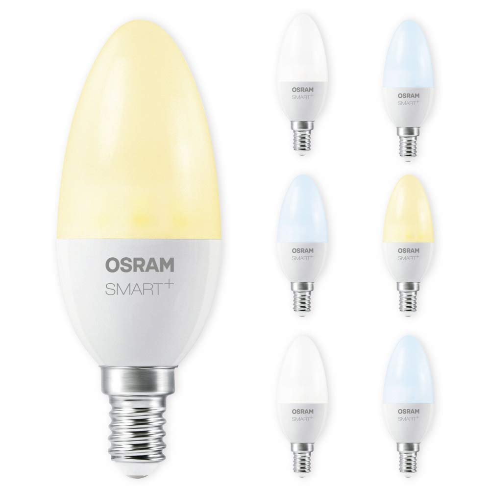 OSRAM SMART+ LED E14 6W 40W Tunable Weiß ZigBee Lightify Echo Alexa kompatibel Auswahl 7er Set