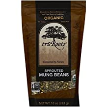 truRoots Organic Sprouted Mung Beans, 10 oz