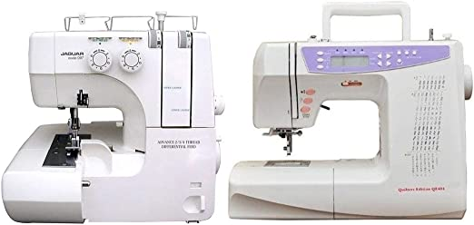 Paquete: Jaguar Advanced 099 Overlocker + QE404 (Quilting ...