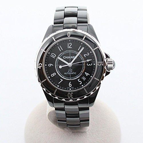 [シャネル]CHANEL 腕時計 J12 ジェイトゥエルヴ メンズ 自動巻き ブラックセラミック H0685 メンズ 中古 B07C3MCH8Q