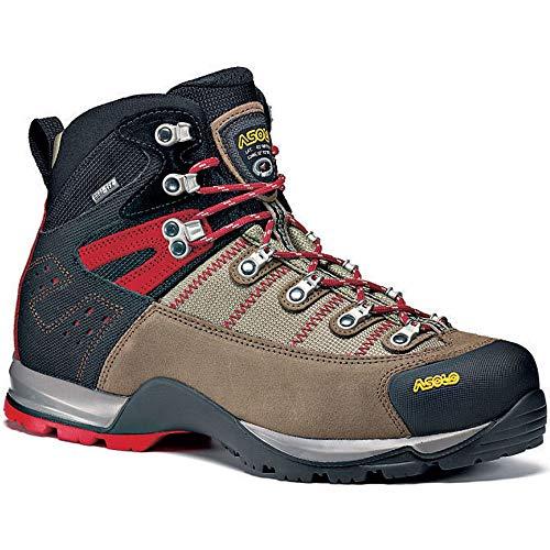 Asolo Men's Fugitive GTX Hiking Boots, Wool / Black, 10.5 D(M) US
