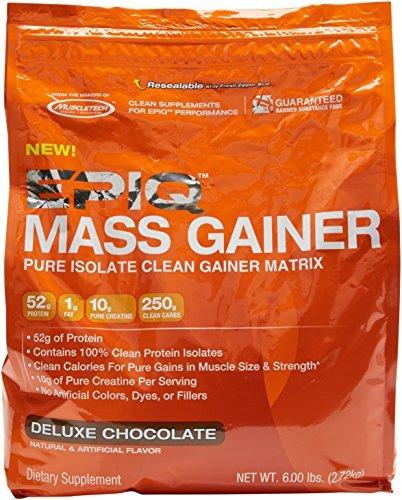 Epiq 2.72 kg Chocolate Mass Gainer Pure Isolate Clean Matrix Powder by EPIQ