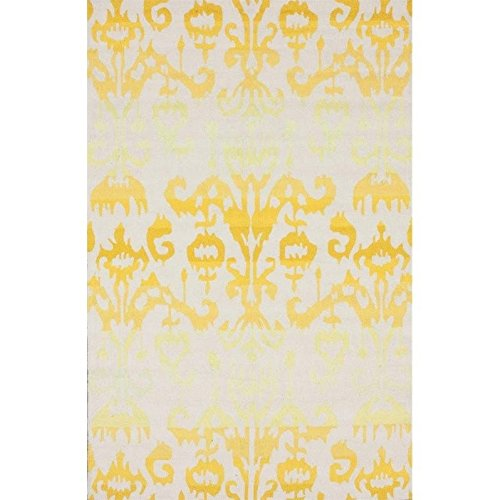 nuLOOM Barcelona Collection Ikat Transitional Contemporary Southwestern Hand Made Area Rug, 6-Feet by 9-Feet, Sundance