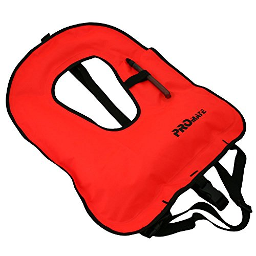 Snorkel Vest Jacket for Junior-Orange ()