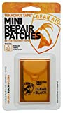 (US) Gear Aid Tenacious Tape Mini Repair Patches, Black and Clear