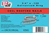 """Grip Rite GRCR19GAL 3/4"""" by 15° Wire Collated"""