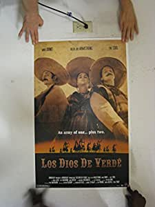 Green Day Poster Los Dios De Verde As Banditos
