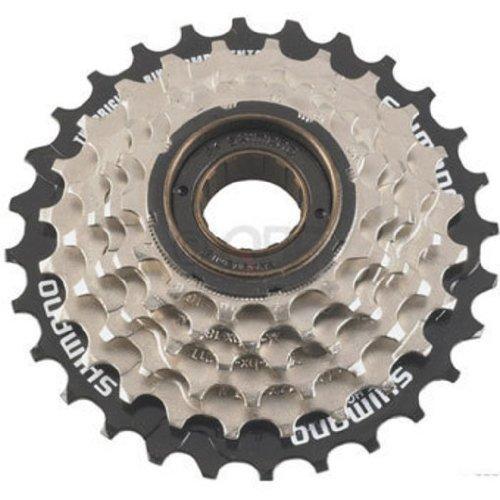 Shimano MF-TZ20 Tourney Freewheel (14-28T 6 (Bicycle Freewheel)