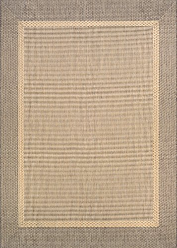 Couristan Natural - Couristan 5526/0712 Styria Texture Area Rug, 5'3