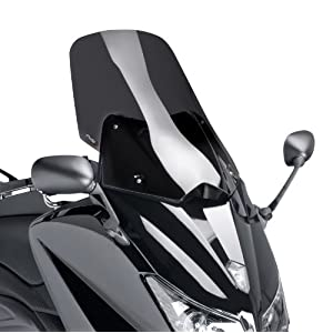 Windshield Puig V-Tech Line Yamaha T-max 530 12-16 dark smoke