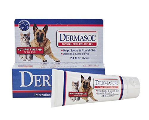 Dermasol Gel Topical Skin Relief for Dogs and Cats, 2.1 oz