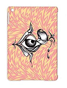 Creepy Eye Art Design Tattoo Painting Drawing Ojo Eyeball Halloween Eye Creepy White Anti-drop For Ipad Air Protective Hard Case
