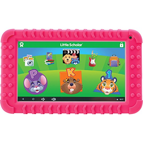 School Zone - Little Scholar Kids Learning Tablet - Ages 3 to 7, Preschool, Kindergarten, 1st Grade, 7