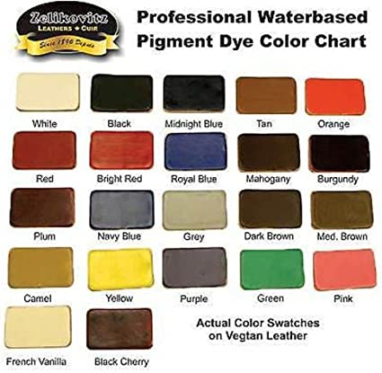 Black,Gloss ZeliPro Leather Dyeing Kit to Dye Repair and Restore Small /& Sponge Brush
