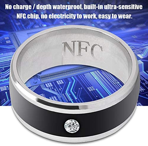 6in NFC Multi-Function Smart Rings Magic Wearable Device Universal for Mobile Phone Connecte to The Mobile Phone Function Operation and Sharing of Data 51Chw8qGBDL
