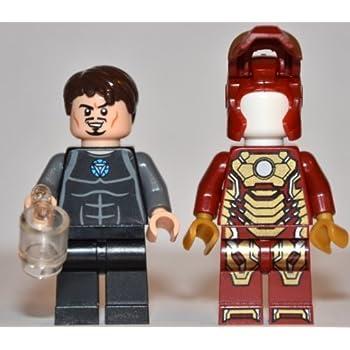 amazoncom lego super heroes iron man 3 tony stark with