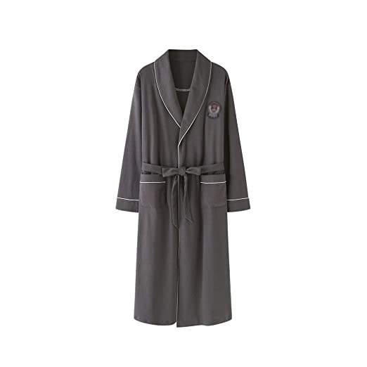 Xin Yu Yue Firm Batas de Vestir para Hombre Pijamas Ropa de Dormir ...