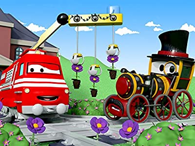 Troy in Train Town : Taylor's Sunglasses / The Gardening Train