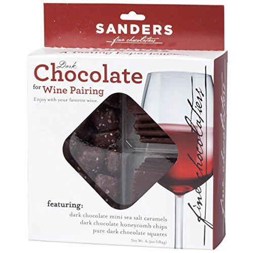 Sanders Dark Chocolate for Wine Pairing, 6.5 oz.