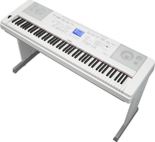 Yamaha dgx 660 88 key weighted action digital grand piano for Yamaha keyboard 88 keys weighted