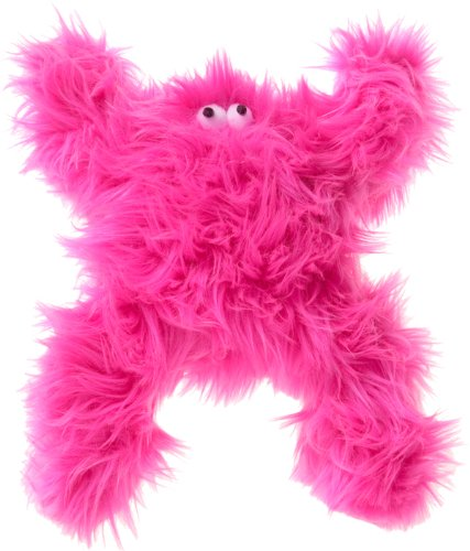 Hot Pink West Paw Design Boogey Squeak Toy for Dogs, Hot Pink