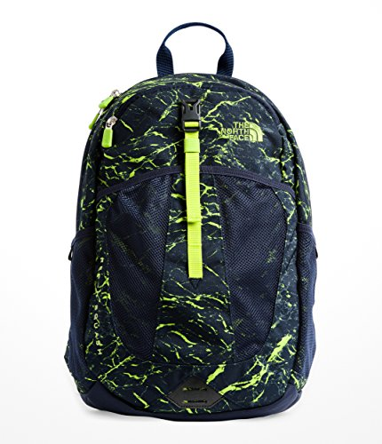 North Supply - The North Face Youth Recon Squash - Cosmic Blue Granite Print & Lime Green - OS