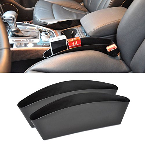 Pcie Gift Box (2Pcs Auto Car Seat Slit Pocket Box Catch Catcher Storage Organizer free shipping)