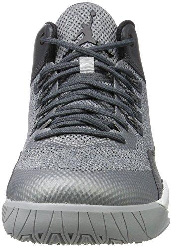 Nike Herren 844065-007 Basketball Turnschuhe Grau