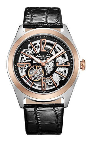 Kenneth Cole New York Men's KC1792 Automatic Automatic Rose Gold Bezel Strap Watch