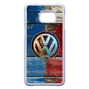 Volkswagen Car Logo For Cell Phone Case Samsung Galaxy S7 Edge White Case Cover W13W7032740
