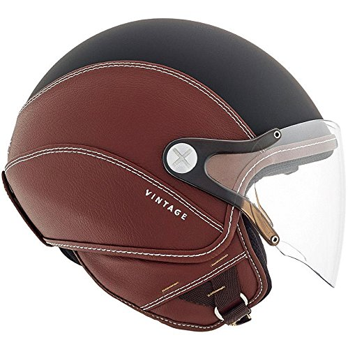 Nexx SX60 Vintage 2 Helmet - Black / Brown - M