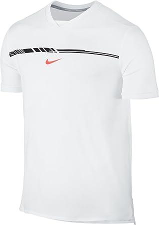 Nike M Nk Arorct Chllgr Pr Camiseta de Manga Corta Línea Rafa Nadal de Tenis fb140ccc9cdbc