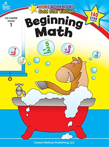 Beginning Math, Grade 1: Gold Star Edition (Home ()
