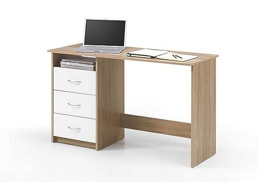 Mesa de escritorio de oficina de piel sintética de la mesa de ...