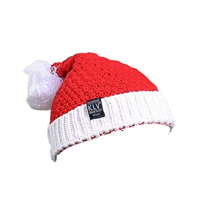 504f059508852 Chapeau de Noël Bonnet Père Noël pour Unisex Adulte Enfant