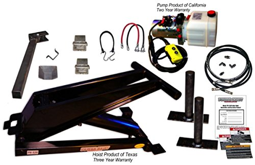 Hydraulic Hoist Kit- 20,000 lbs- Dump Trailer- 12V- Scissor Hoist Kit Complete. by Premium Supply